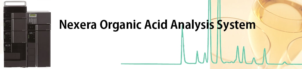 Nexera Organic Acid Analysis System