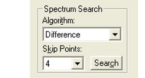 Fig. 4 Selection of Search Algorithm