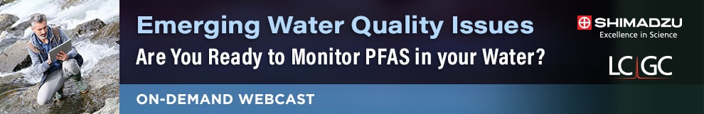 Are you ready to Monitor PFAS in your Water?