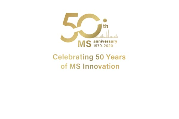 MS 50th anniversary website