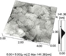 Fig.1 3D image of coated Paper
