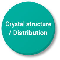 Crystal structure / Distribution