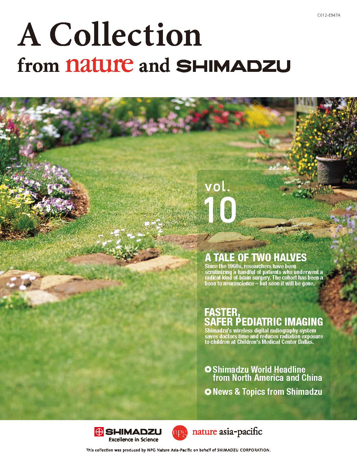 A Collection from nature and SHIMADZU