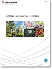 Shimadzu Environmental Report 2016