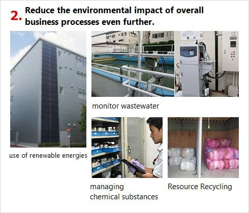 Reduce the environmental impact of overall business prosesses even further.
