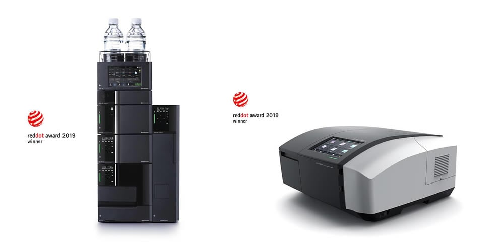Two Analytical Instruments Receive the Red Dot Design Award 2019