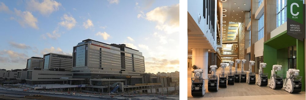 Shimadzu Mobile X-Ray Systems at the Newly Opened Başakşehir Çam & Sakura City Hospital