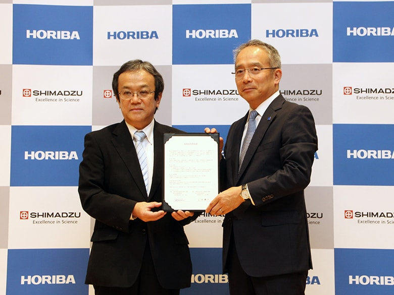 Shimadzu and HORIBA to Collaborate on Development and Sales of LC-Raman Analytical and Measuring Instruments Towards the Commercialization of Analytical and Measuring Instruments that Combine a High-Performance Liquid Chromatograph and a Raman Spectrometer