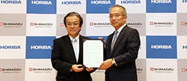 Shimadzu and HORIBA to Collaborate on Development and Sales of LC-Raman Analytical and Measuring Instruments