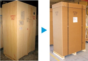 Reinforced Corrugated Cardboard Packaging