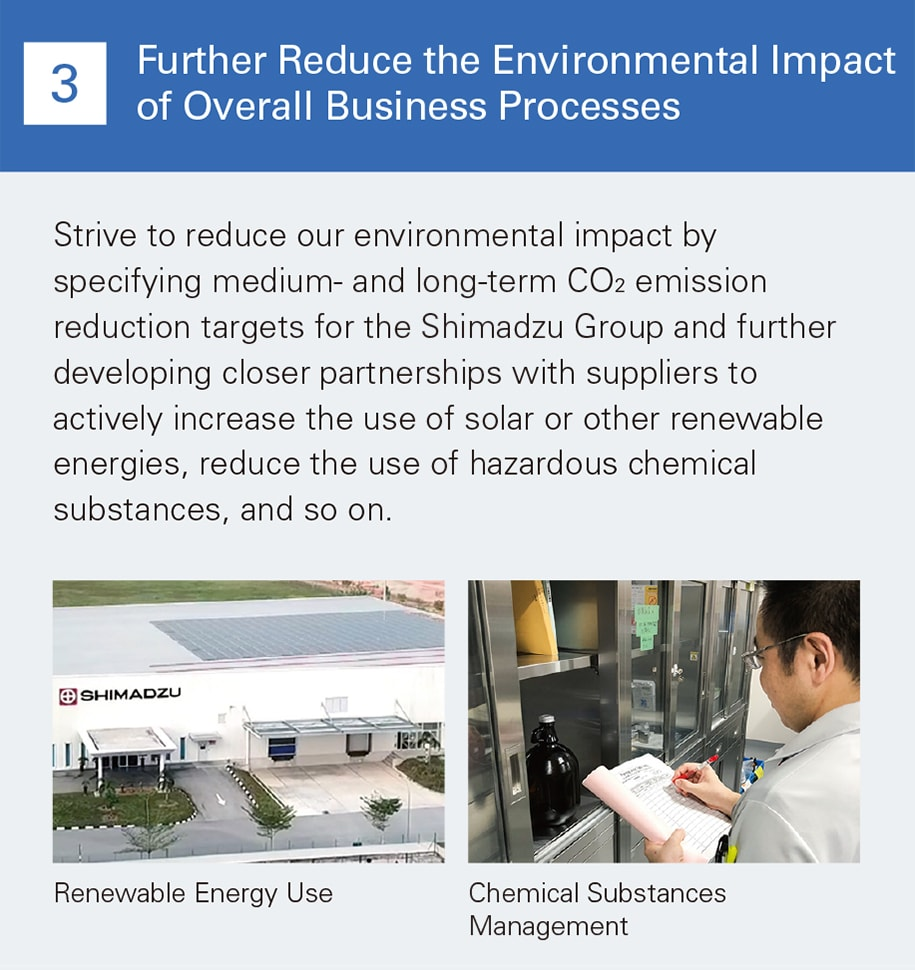 Further Reduce the Environmental Impact of Overall Business Processes