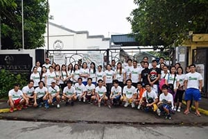 Employees That Participated in the Running Event