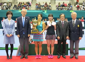 the Shimadzu All Japan Indoor Tennis Championships