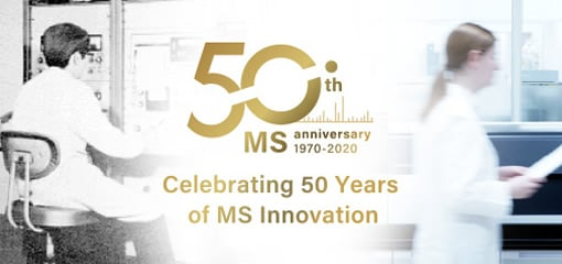Shimadzu's MS 50 years anniversary