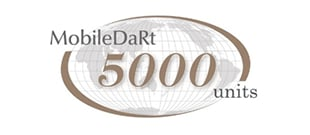 MobileDaRt series exceeded 5,000 units worldwide orders