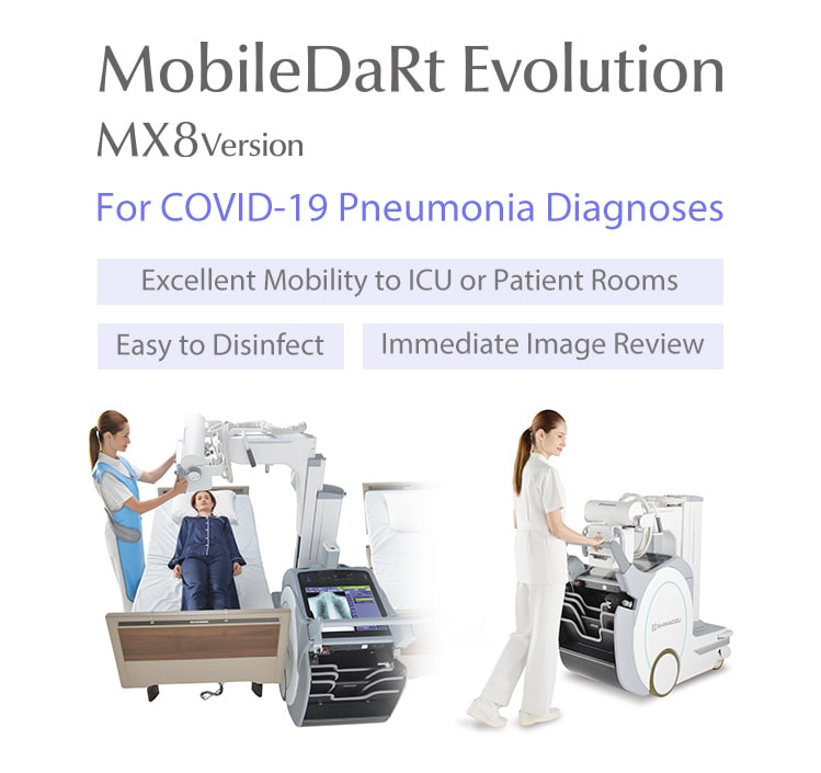 Digital Radiographic Mobile X-ray System