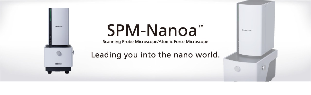 Shimadzu Introduces SPM-Nanoa Scanning Probe Microscope Provides High-Level Operability and High-Speed Processing, with Automated Optical Adjustments and Observation Conditions Settings